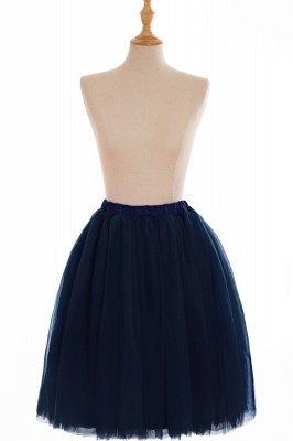 Nifty Short A-line Mini Skirts   Elastic Women's Skirts_14