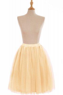 Nifty Short A-line Mini Skirts   Elastic Women's Skirts_8
