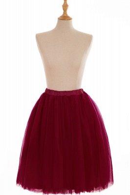 Nifty Short A-line Mini Skirts   Elastic Women's Skirts_4