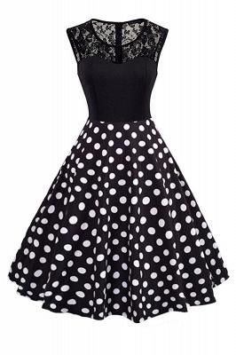 Elegant Jewel Lace Sleeveless Fashion Dresses   Sweetheart Women's Dress_2