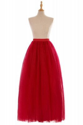 Glamorous A-line Floor-Length Skirt | Elastic Women's Skirts