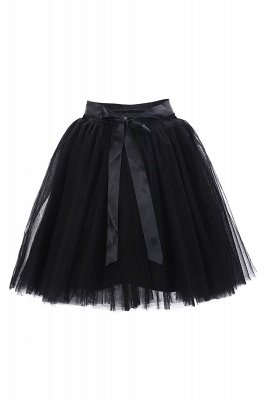 Amazing Tulle Short Mini Ball-Gown Skirts | Elastic Women's Skirts_13
