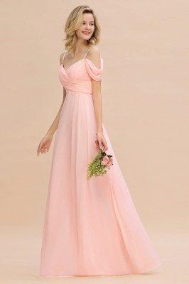 Фантазийные ремни спагетти Милая оборками платье для подружки невесты_6