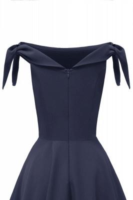 Womens Bateau Burgundy Navy Ruby Vintage Dresses | Retro Princess Short Party Dress_13