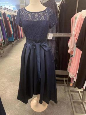 KIMBERLY | A Type V-Neck Chiffon White Bridesmaid Dress with Fold_2