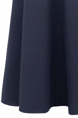 المرأة بسيطة خارج على الكتف حزب اللباس وصيفه الشرف طويل اللباس بورجوندي_23