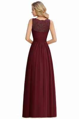 Beautiful V-neck Long Evening Dresses with soft Pleats | Sexy Sleeveless V-back Dusty Pink Womens Dress for Prom_20