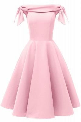Womens Bateau Burgundy Navy Ruby Vintage Dresses | Retro Princess Short Party Dress_1