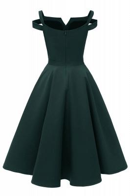 Vintage Kleider 50er Jahre Mit Trägern | Retro 50er Jahre Kleid Weinrot_10
