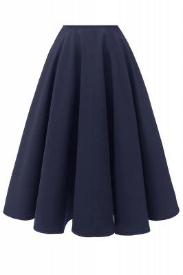 Vintage Kleider 50er Jahre Mit Trägern | Retro 50er Jahre Kleid Weinrot_25