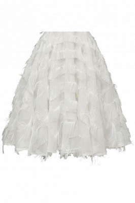 Sexy off-the-shoulder Artifical Feather Princess Vintage Homecoming Dresses | Womens Retro A-line Pink Cocktail Dress_18