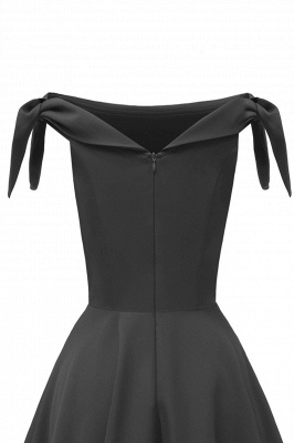 Womens Bateau Burgundy Navy Ruby Vintage Dresses | Retro Princess Short Party Dress_21