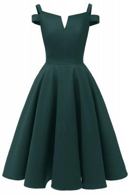 Vintage Kleider 50er Jahre Mit Trägern | Retro 50er Jahre Kleid Weinrot_4