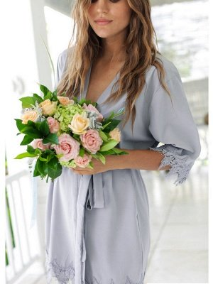 Adult Satin Bridal Robes Silk Floral Robe Dressing Gown Bridesmaid Robes bachelorette gifts Bridal Party Robes_7