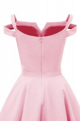 Mancherons sexy robes princesse vintage avec des sangles | Robe de cocktail en émeraude rétro à col en V pour femmes_16