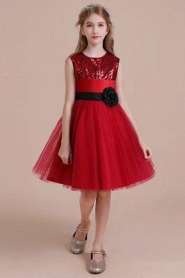 Fabulous Tulle A-line Flower Girl Dress  Graceful Sequins  Little Girls Dress for Wedding