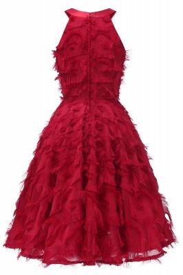 Elegante A-Linie Damen Vintage Kleider   Retro Vintage Rockabilly Kleid_12