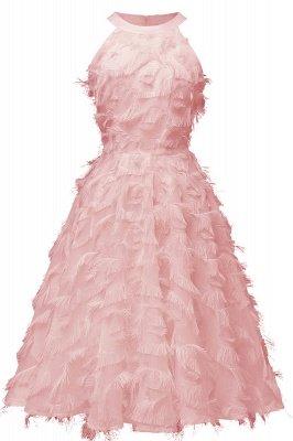 Elegante A-Linie Damen Vintage Kleider   Retro Vintage Rockabilly Kleid_5