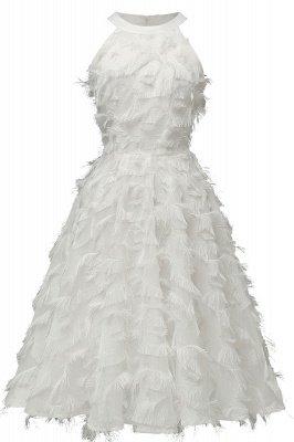 Elegante A-Linie Damen Vintage Kleider   Retro Vintage Rockabilly Kleid_1