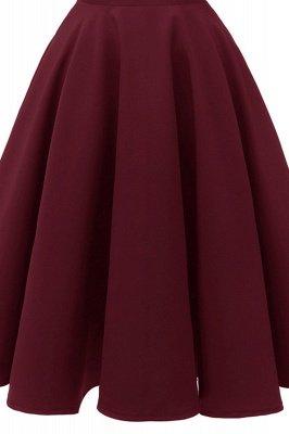 Mancherons sexy robes princesse vintage avec des sangles | Robe de cocktail en émeraude rétro à col en V pour femmes_21