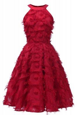 Elegante A-Linie Damen Vintage Kleider   Retro Vintage Rockabilly Kleid_3