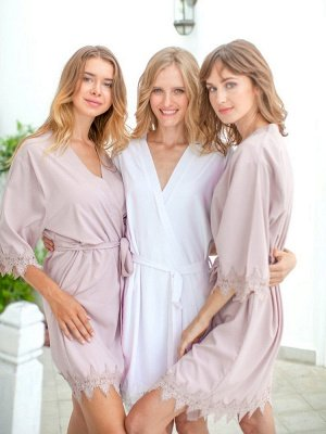 Adult Satin Bridal Robes Silk Floral Robe Dressing Gown Bridesmaid Robes bachelorette gifts Bridal Party Robes_1