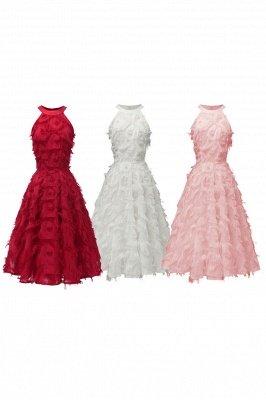 Elegante A-Linie Damen Vintage Kleider   Retro Vintage Rockabilly Kleid_16