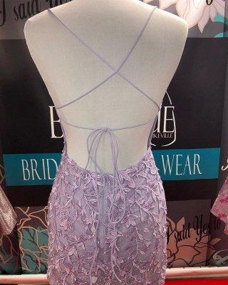 Доступное короткое платье для выпускного из кружева Spaghetti Straps | Шикарное безрукавное мини-коктейльное платье_3