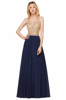 Wunderschönes ärmelloses Burgunder-Abendkleid mit V-Ausschnitt | Billiges formelles Kleid_4