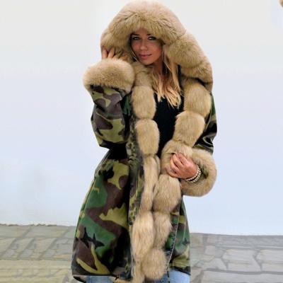 Electric Army Green Faux Fur Chubby Jacket | Superstar Faux Fur Coat in Burgundy/Black/Gray Shawl Collar_11