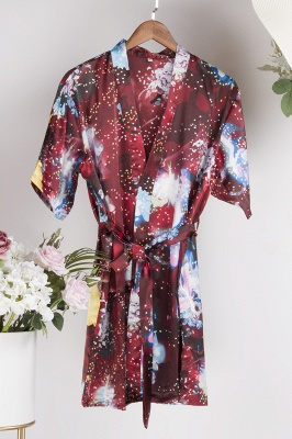 Bridesmaid Cotton Lace Robes! Perfect for your Bridal Party, bride Lace Robes, Getting Ready Robes