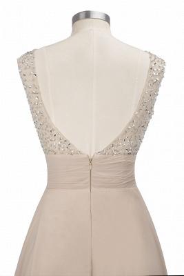 Purple Elegant SLNY Rhinestone Embellished  Backless Pleats Long Evening Dress_12