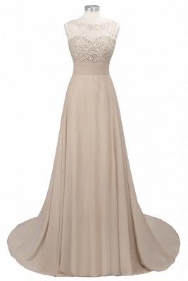 Purple Elegant SLNY Rhinestone Embellished  Backless Pleats Long Evening Dress_10