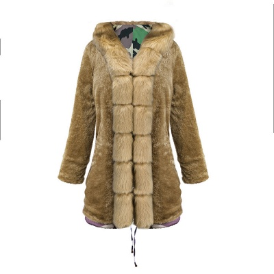 Electric Army Green Faux Fur Chubby Jacket | Superstar Faux Fur Coat in Burgundy/Black/Gray Shawl Collar_40
