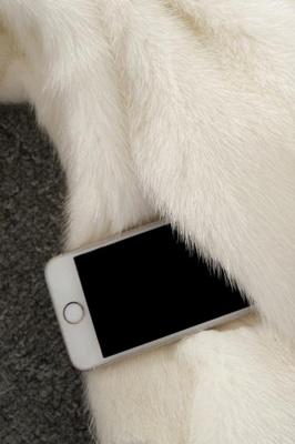 Abrigo con capucha de media longitud negro / blanco de piel sintética | Chaqueta de piel sintética con cuello chal artificial islandés_19