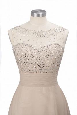 Purple Elegant SLNY Rhinestone Embellished  Backless Pleats Long Evening Dress_15