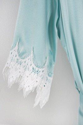 Lace Bridal Robe / Bridesmaid Robes / Robe / Bridal Robe / Bride Robe / Bridal Party Robes / Bridesmaid Gifts / Satin Robe_20