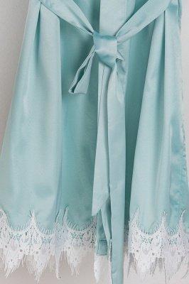 Lace Bridal Robe / Bridesmaid Robes / Robe / Bridal Robe / Bride Robe / Bridal Party Robes / Bridesmaid Gifts / Satin Robe_15