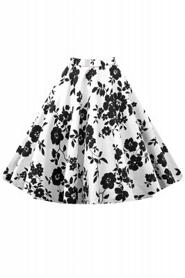 Short A-line Floral Skirt Clearance Sale & Free Shipping