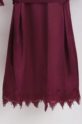 Lace Bridal Robe / Bridesmaid Robes / Robe / Bridal Robe / Bride Robe / Bridal Party Robes / Bridesmaid Gifts / Satin Robe_38