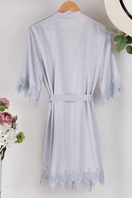 Lace Bridal Robe / Bridesmaid Robes / Robe / Bridal Robe / Bride Robe / Bridal Party Robes / Bridesmaid Gifts / Satin Robe_32