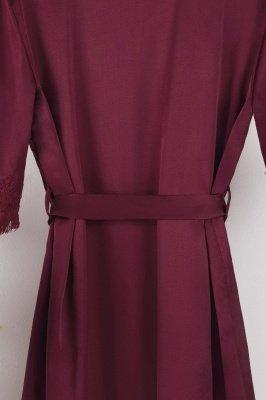Lace Bridal Robe / Bridesmaid Robes / Robe / Bridal Robe / Bride Robe / Bridal Party Robes / Bridesmaid Gifts / Satin Robe_37