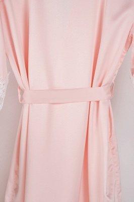 Lace Bridal Robe / Bridesmaid Robes / Robe / Bridal Robe / Bride Robe / Bridal Party Robes / Bridesmaid Gifts / Satin Robe_31