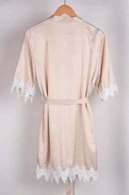 Lace Bridal Robe / Bridesmaid Robes / Robe / Bridal Robe / Bride Robe / Bridal Party Robes / Bridesmaid Gifts / Satin Robe_5