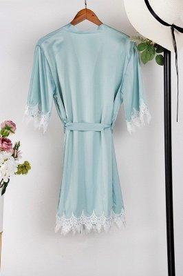 Lace Bridal Robe / Bridesmaid Robes / Robe / Bridal Robe / Bride Robe / Bridal Party Robes / Bridesmaid Gifts / Satin Robe_16