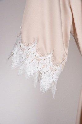 Lace Bridal Robe / Bridesmaid Robes / Robe / Bridal Robe / Bride Robe / Bridal Party Robes / Bridesmaid Gifts / Satin Robe_47