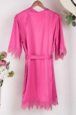 Lace Bridal Robe / Bridesmaid Robes / Robe / Bridal Robe / Bride Robe / Bridal Party Robes / Bridesmaid Gifts / Satin Robe_45