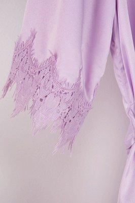 Lace Bridal Robe / Bridesmaid Robes / Robe / Bridal Robe / Bride Robe / Bridal Party Robes / Bridesmaid Gifts / Satin Robe_52