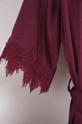 Lace Bridal Robe / Bridesmaid Robes / Robe / Bridal Robe / Bride Robe / Bridal Party Robes / Bridesmaid Gifts / Satin Robe_39