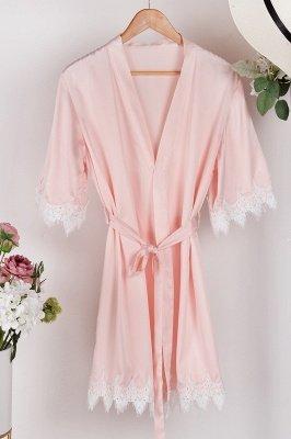 Lace Bridal Robe / Bridesmaid Robes / Robe / Bridal Robe / Bride Robe / Bridal Party Robes / Bridesmaid Gifts / Satin Robe_29